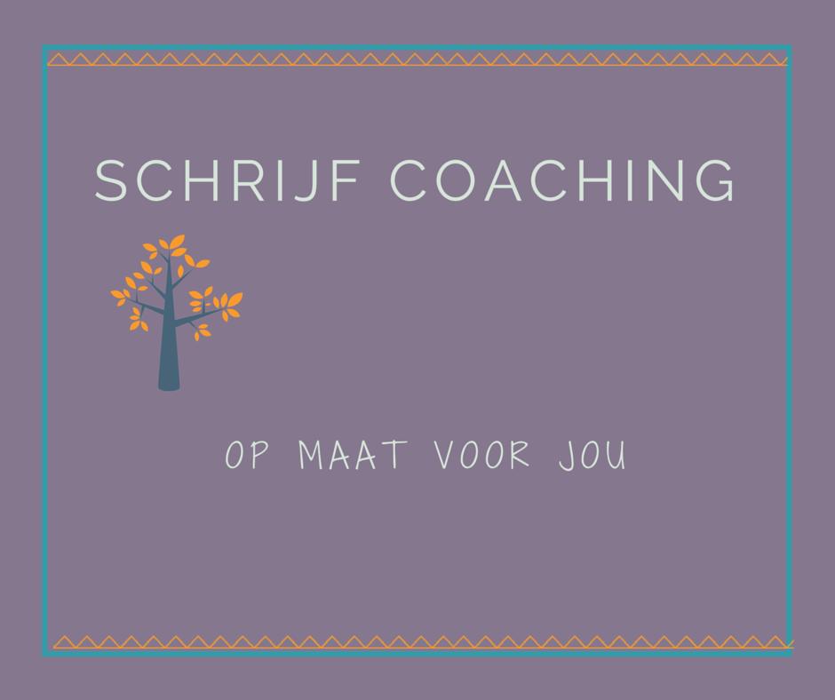 schrijf coaching op maat utrecht
