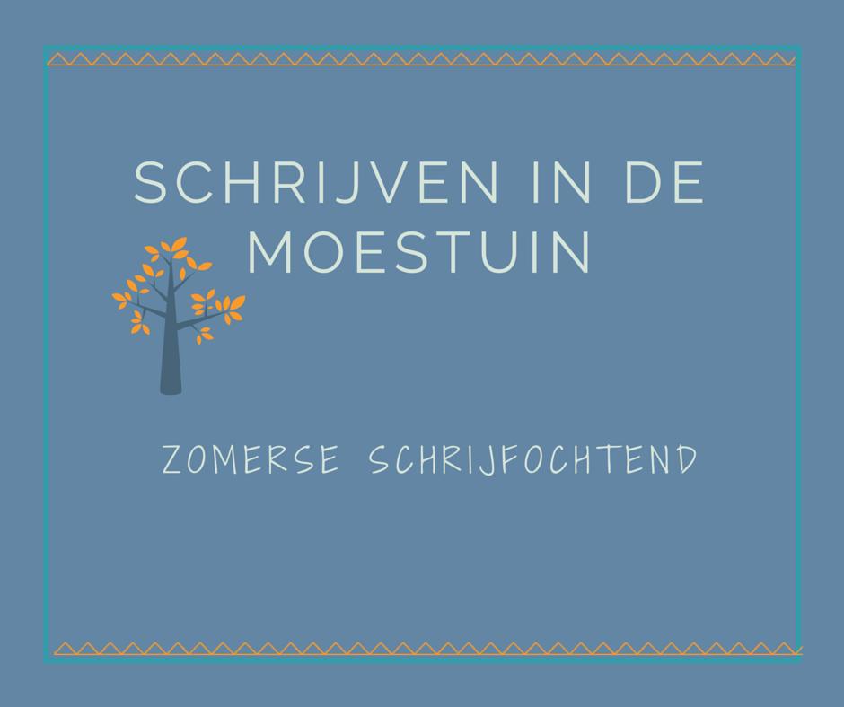 Schrijven in de moestuin Utrecht